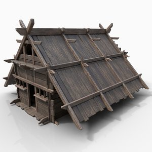 gen aaa medieval viking 3D model