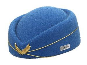 3D hat stewardess
