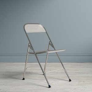 3d metallic indian chair model