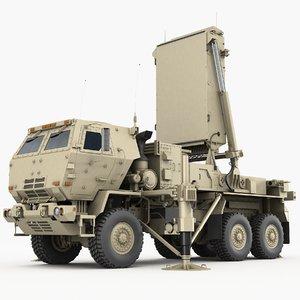 tpq-53 radar lockheed martin 3D