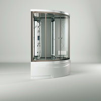 DUOFEN series D bathtub and massage room bath room model