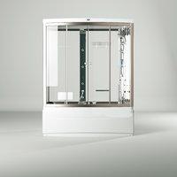 DUOFEN series E bathtub and massage room bath room model