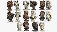 Classical Head Sculptures