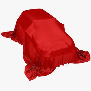 3D model car cloth