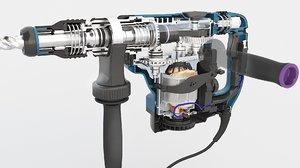 parts electric 3D model