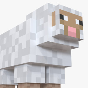 minecraft sheep rigged model