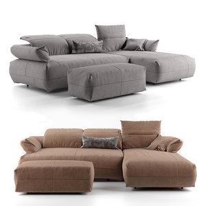 sofa avivo 3D model