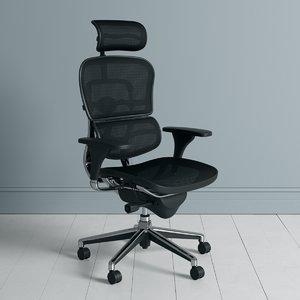 ergo human swivel chair model