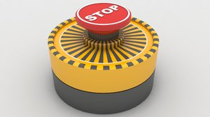 emergency panic button 3D