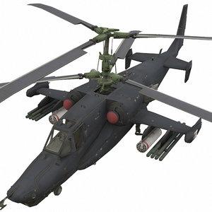 kamov ka-50 3D