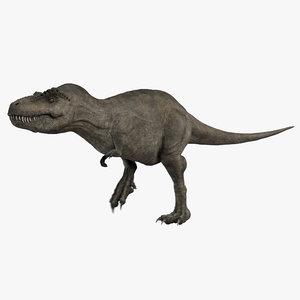 3D tyrannosaurus rex t-rex animation