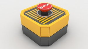3D emergency panic button