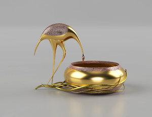 decorative table model