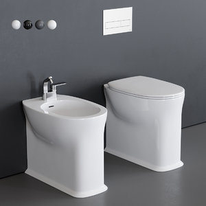 3D madre toilet bidet
