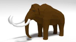 mammoth quads blender 3D model