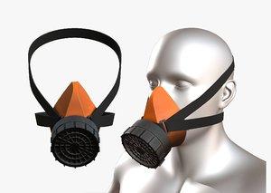 helmet mask 3D model