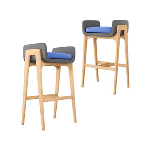 3D coventry arm stool bar model