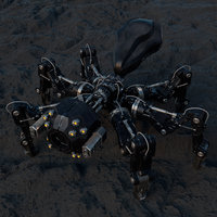 Robotic Spider - Sci Fi - Character