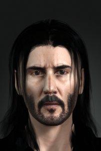 character design actor john 3D model