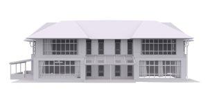 house exterior model