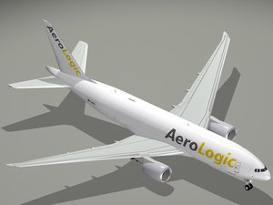 boeing aerologic b 777 3D model