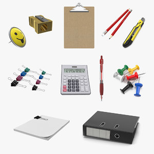 3D stationery 4