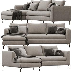 doimosalotti duke sofa 3D model