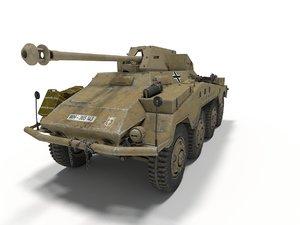 sd kfz 234 3D model