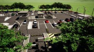 car park public model