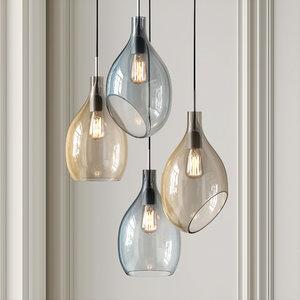 3D model lampatron lovisa lamp