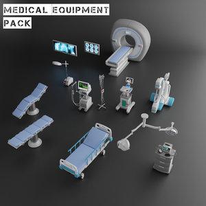 medical equipment 3D model