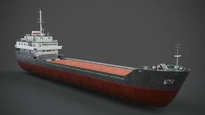 vessel ship watercraft 3D