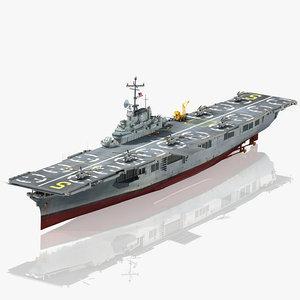 uss princeton cv-37 lph-5 3D model