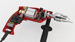 3D power drill