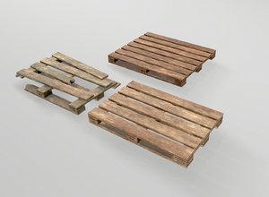3D pallets industrial