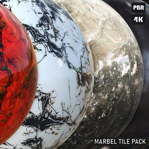 PBR Marbel Tile Pack textures