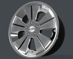 3D luxury rim g-corporation model