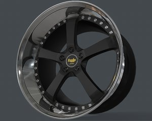 rim equip work wheels 3D model