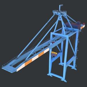 3D - cargo container model