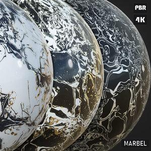 PBR Marbel Tile textures