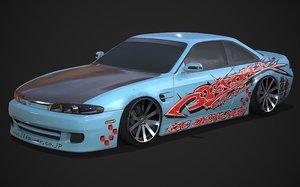326 power dlux bodykit 3D model