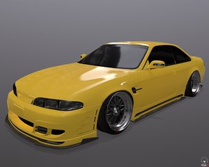 Nissan Silvia S14 326 Power 3D-Star bodykit