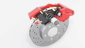 brakes disc 3D model