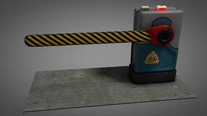 3D barrier gate limit model