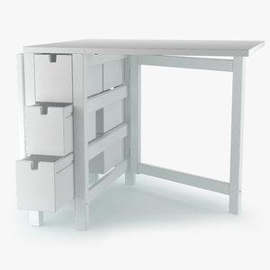 ikea norden table 3D