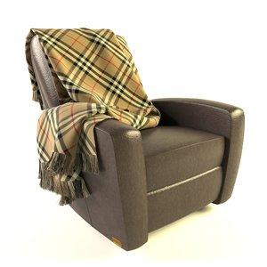 armchair seat model