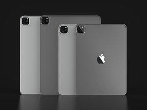 3D apple ipad pro official model
