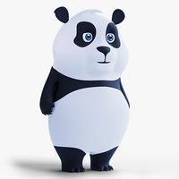 Low Poly Panda