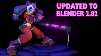 Panda Monk Furry NSFW