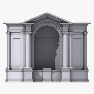 niche01 3D model